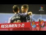 Resumen de Real Sociedad vs Real Valladolid (1-2)