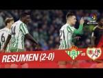 Resumen de Real Betis vs Rayo Vallecano (2-0)