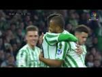 Golazo de Sidnei (2-0) Real Betis vs Rayo Vallecano