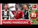 Mario Mandzukic - Made in Bundesliga - Bundesliga 2018 Advent Calendar 13