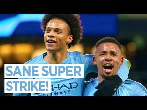 SANE SUPER STRIKE! | Leroy Sane Reaction | Man City 2-1 Hoffenheim