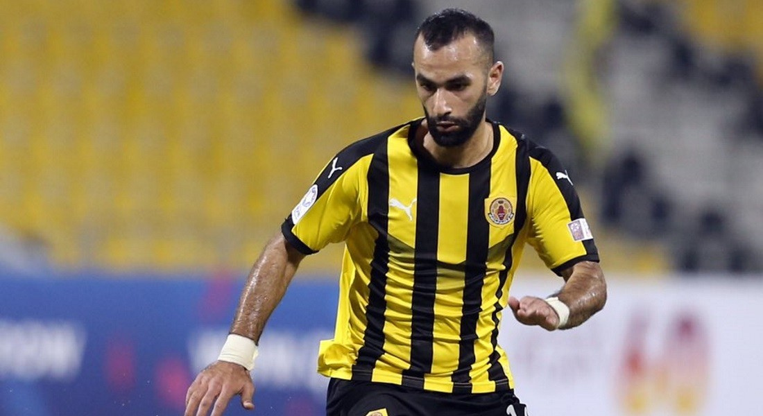 Qatar SC's Osama Omari gets injured