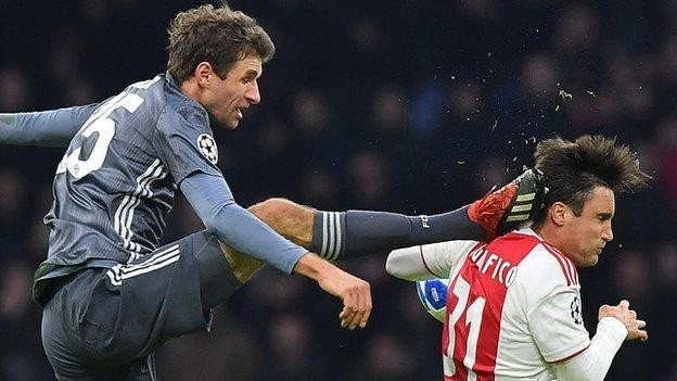 Thomas Muller: Bayern Munich forward suspended for Liverpool tie