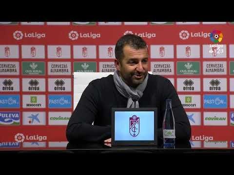 Rueda de prensa de Diego Martínez tras el Granada CF vs Elche CF (2-1)