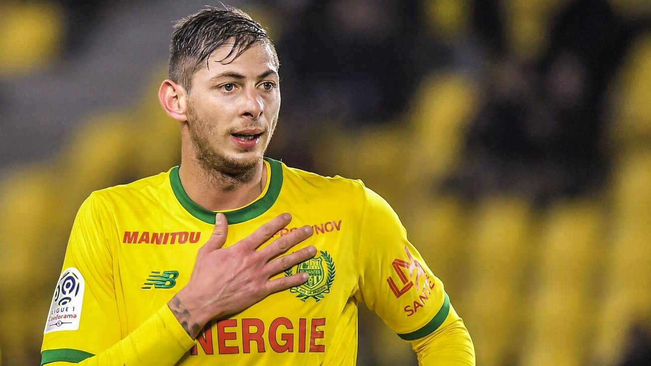 Cardiff City's Emiliano Sala onboard missing plane
