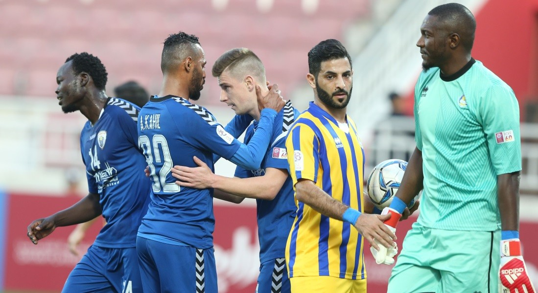 Al Kharaitiyat vs Al Duhail in QSL Cup final