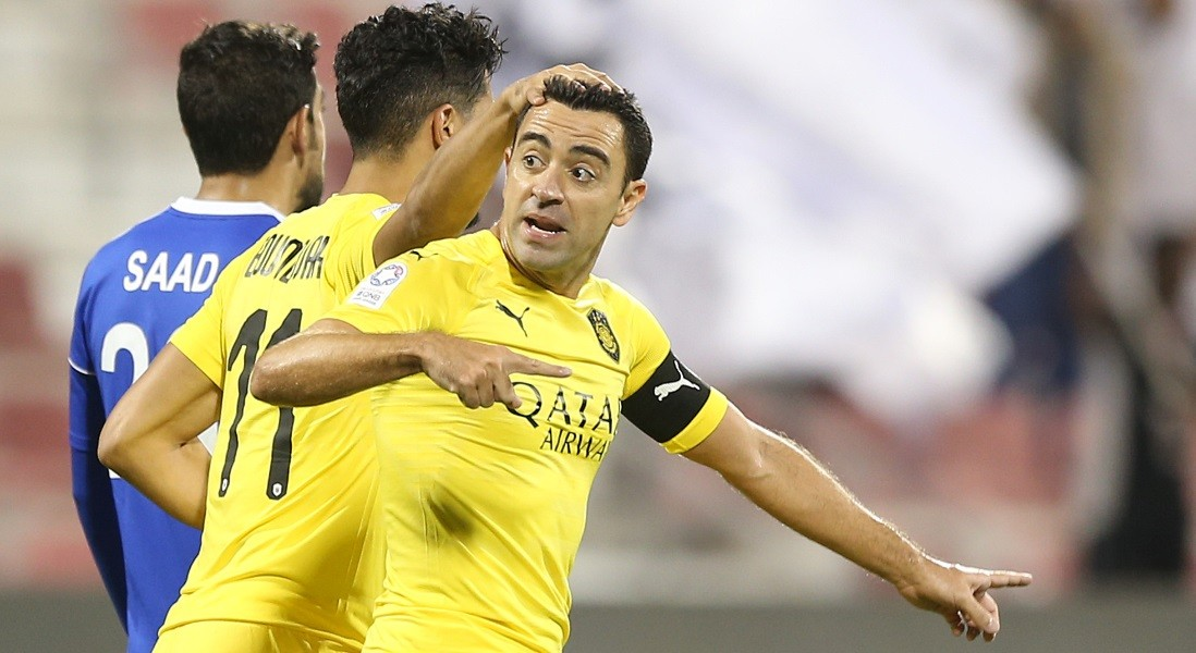 Injured Xavi out of action for about a month