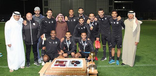 Al-Sadd honour Qatar's Asian champions