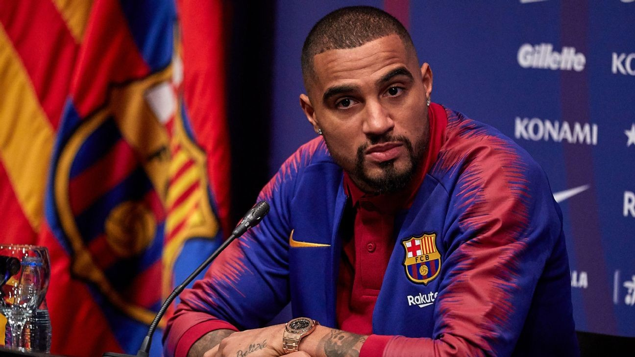 Kevin-Prince Boateng's home robbed as he played for Barcelona - reports