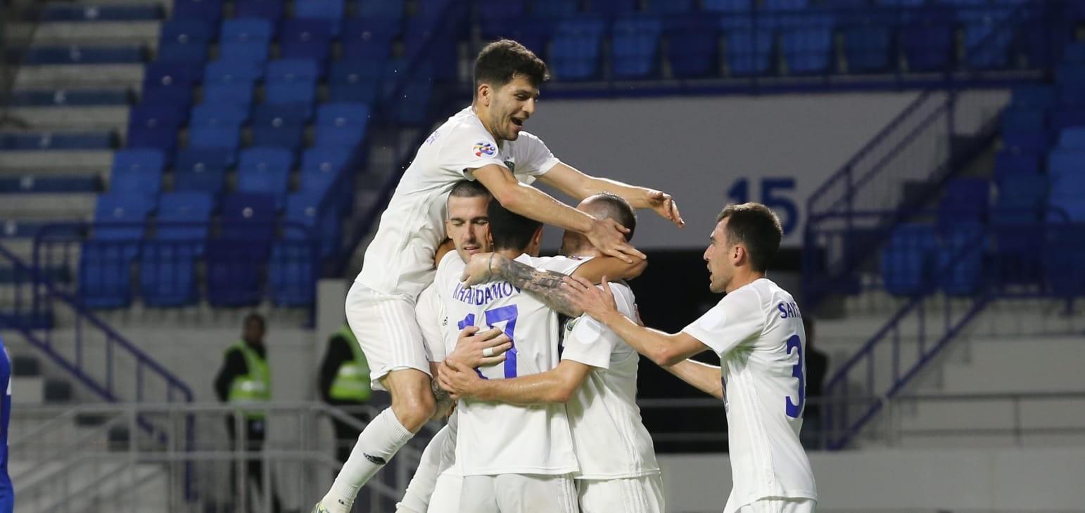 Play-off: Al Nasr 1-2 Pakhtakor