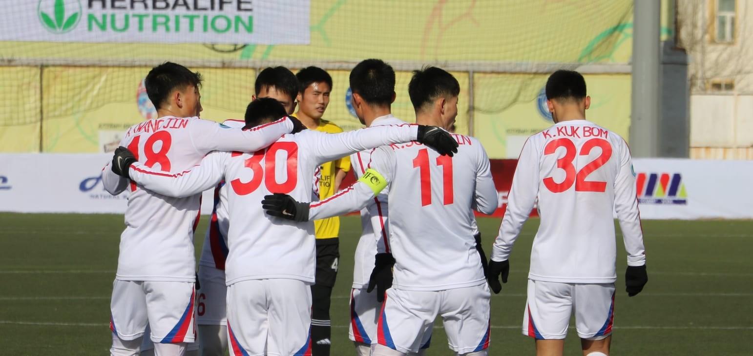 Preliminary Stage - 1st Leg: Erchim FC 0-3 Ryomyong SC
