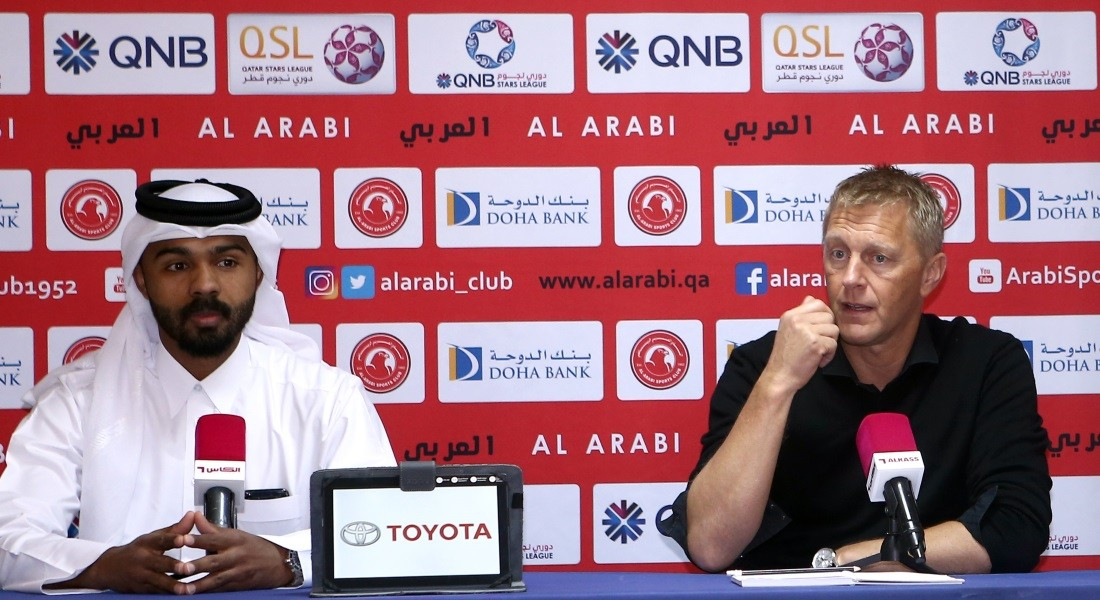 Good chance for us to compensate: Al Arabi coach Hallgrimsson