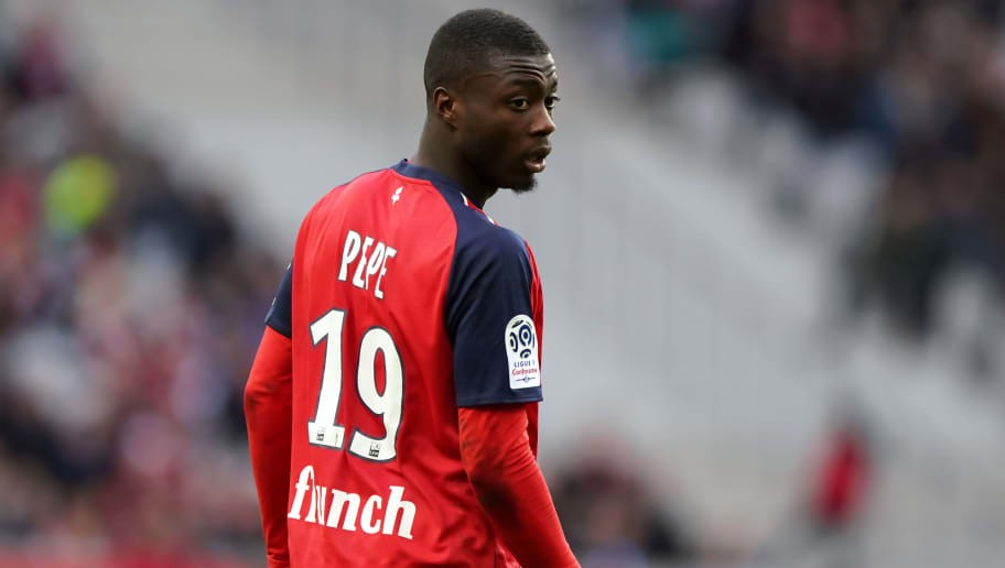 Barcelona Send Officials to Watch Highly Rated Lille Pair Nicolas Pepe & Rafael Leao