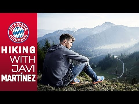 Hiking w/ Javi Martínez in the mountains of Bavaria