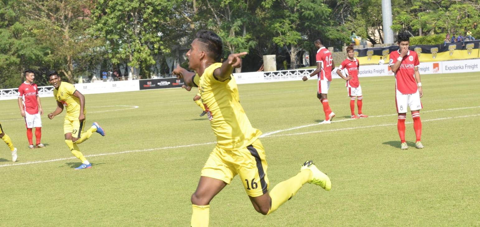 Preliminary Stage - 1st Leg: Colombo FC 7-1 Transport United