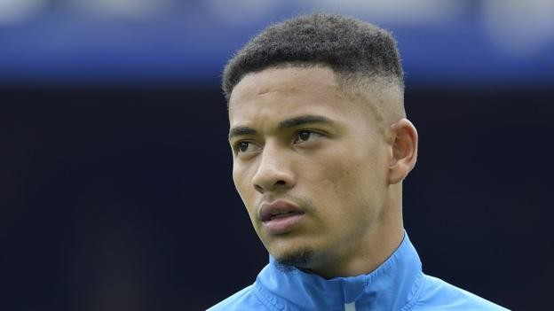 Everton defender Tyias Browning signs for Chinese side Guangzhou Evergrande