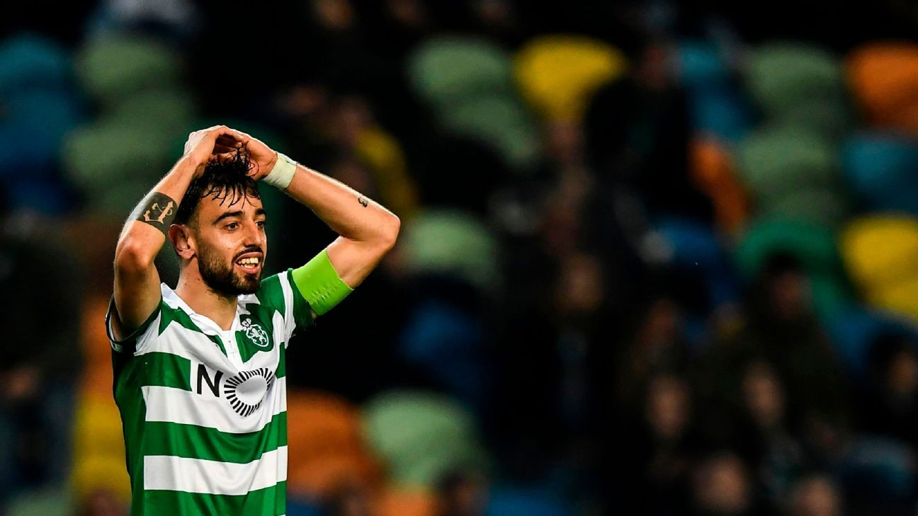 Transfer Talk: Liverpool, Everton may fight over Sporting's Bruno Fernandes