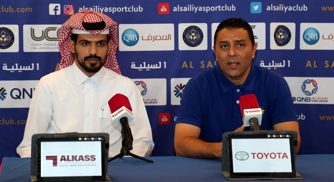 We seek a positive result: Al Sailiya assistant coach Ameen