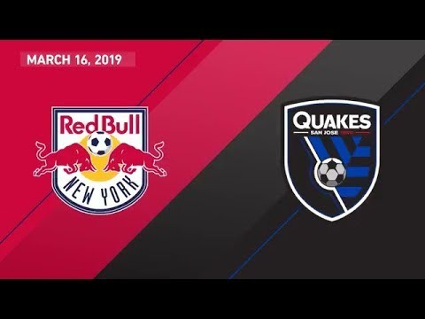 New York Red Bulls vs. San Jose Earthquakes | HIGHLIGHTS - March 16, 2019