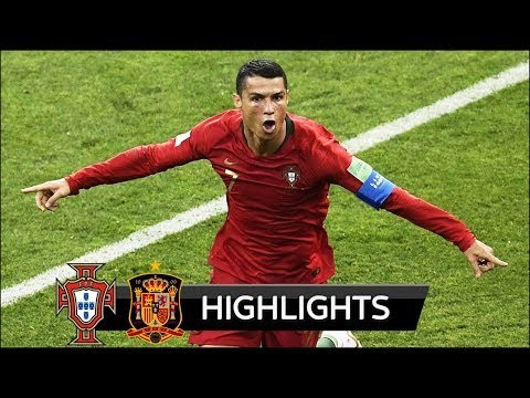 Portugal vs Spain 3-3 - World Cup 2018 - Highlights