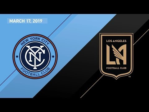New York City FC vs. Los Angeles Football Club | HIGHLIGHTS - March 17, 2019