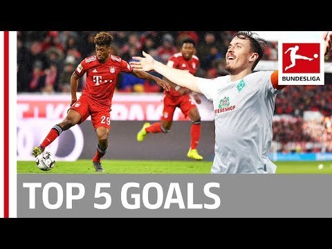 Top 5 Goals on Matchday 26 - James, Bailey, Coman & More