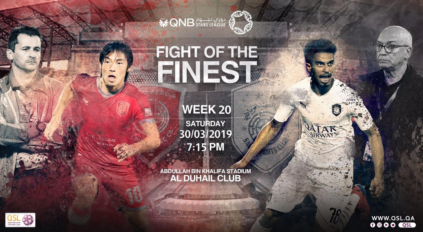QNB Stars League Week 20 — Al Duhail vs Al Sadd
