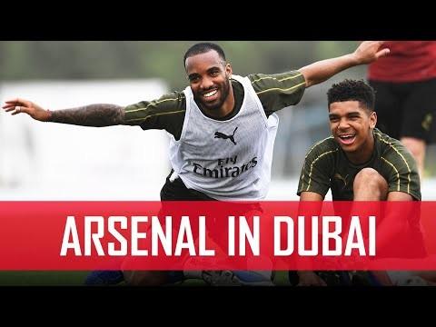 Penalty shoot-out! | Behind the scenes | #ArsenalinDubai