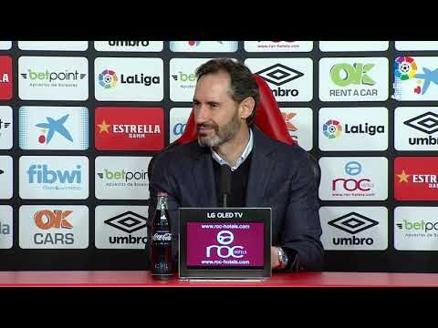 Rueda de prensa de Vicente Moreno tras el RCD Mallorca vs Real Zaragoza (3-0)