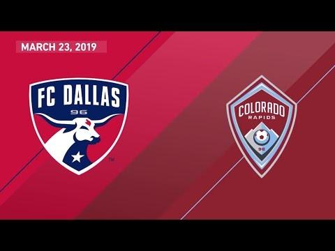 FC Dallas vs. Colorado Rapids   HIGHLIGHTS - March 23, 2019