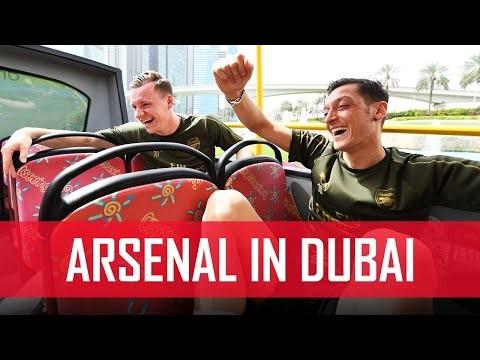Arsenal go sightseeing in Dubai   #ArsenalinDubai