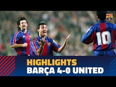 BARÇA 4-0 UNITED   Champions League Group Stage 1994/1995