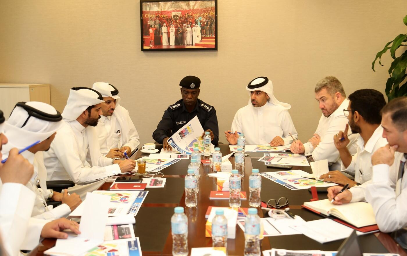 Co-ordination meeting held ahead of Al Duhail vs Al Sadd game