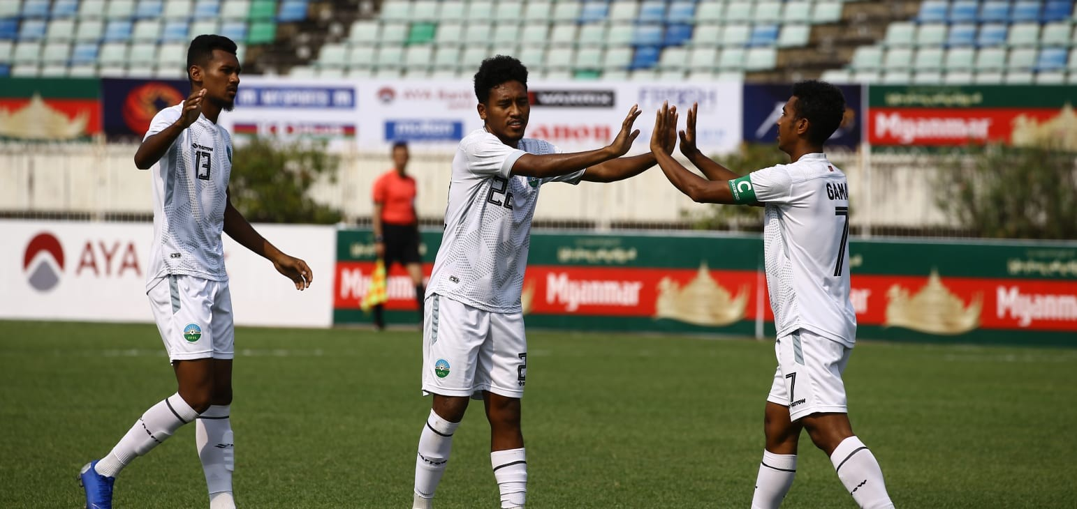 Qualifiers - Group I: Timor Leste hold on for nervy win