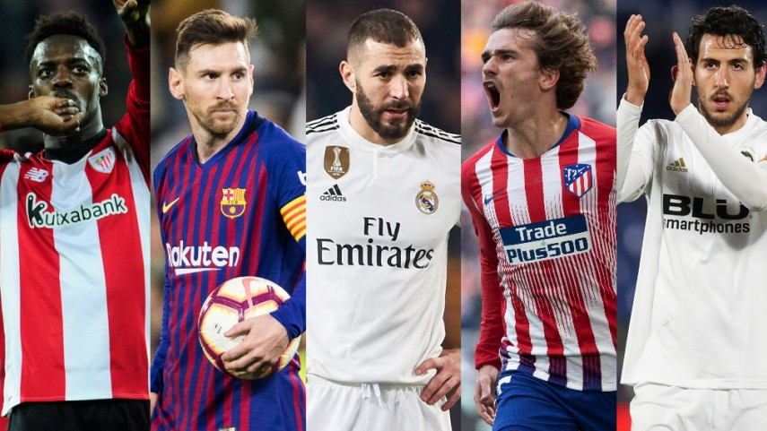 Quiz: Name the LaLiga Santander players with 3 goals and 3 assists in 2018-19
