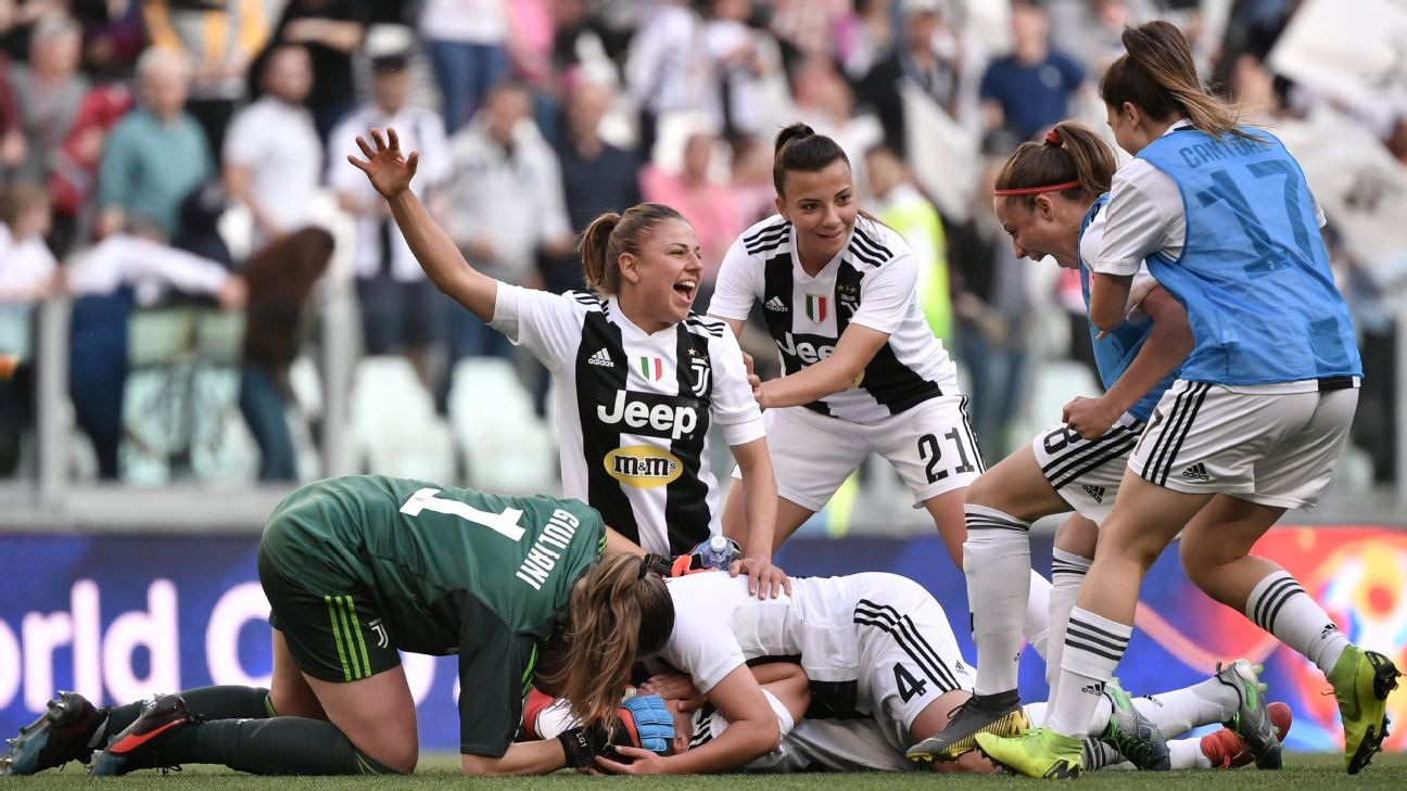 Juventus Women set new Italian crowd record for top-of-table clash