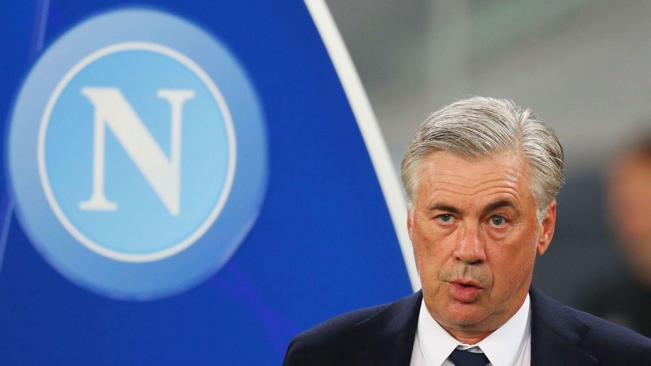 Napoli want Ancelotti to be their Sir Alex Ferguson