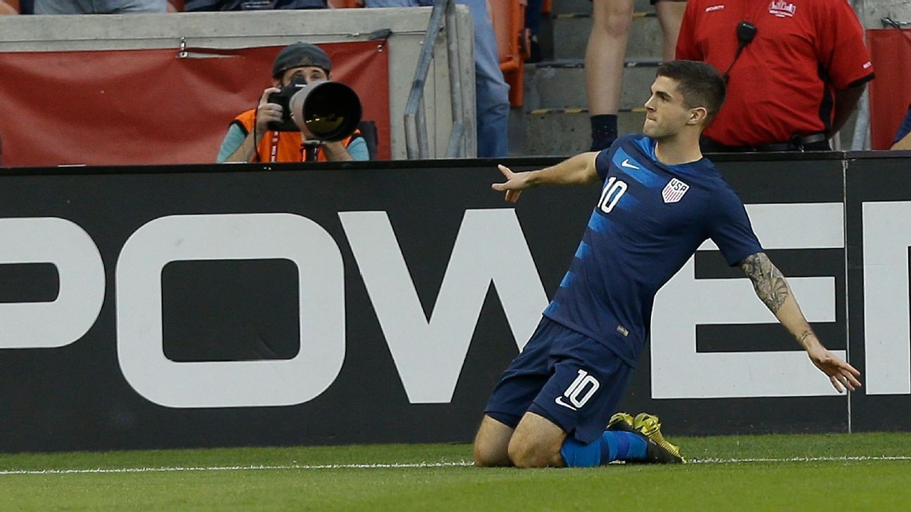 Christian Pulisic exits with quad injury after scoring goal vs. Chile
