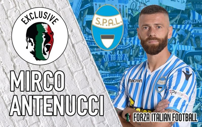 Exclusive Interview with SPAL captain Mirco Antenucci