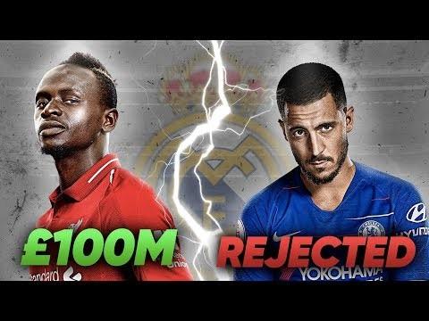 Real Madrid Make Sadio Mane Number 1 Transfer Target After Eden Hazard Rejection! | Transfer Talk