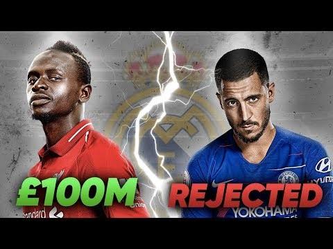 Real Madrid Make Sadio Mane Number 1 Transfer Target After Eden Hazard Rejection! | Transfer Talk