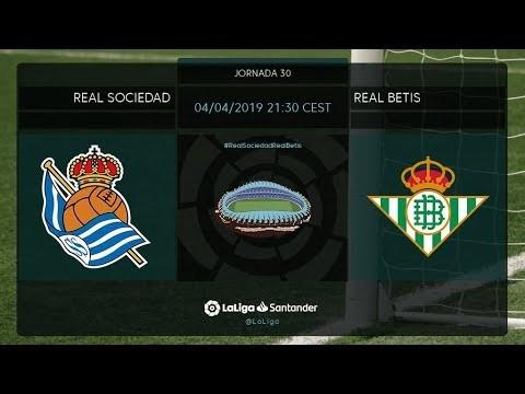 Calentamiento Real Sociedad vs Real Betis