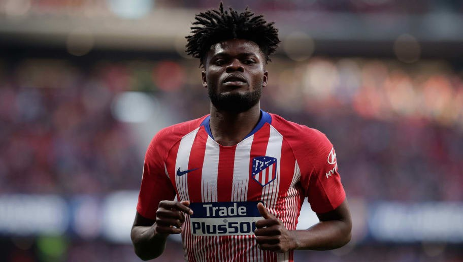 Diego Simeone Deems Atletico Star Thomas Partey Non-Transferable Amid Premier League Interest