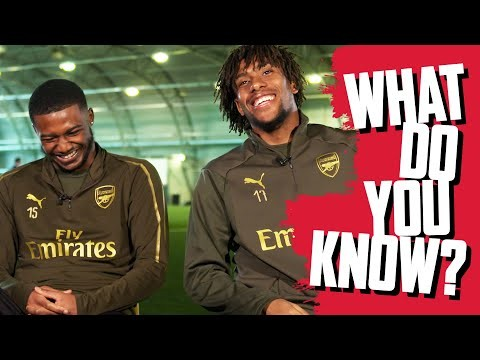 CAN YOU NAME ARSENAL'S GOALSCORERS IN 2018? | Maitland-Niles v Alex Iwobi | What do you know?