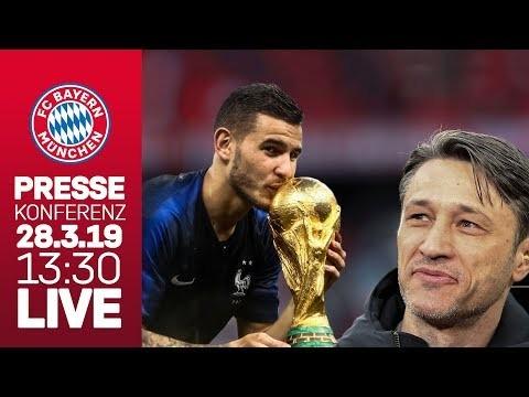 Pressekonferenz LIVE ? | Niko Kovac über Neuzugang Lucas Hernández, Freiburg & den Saisonendspurt!