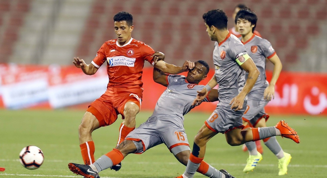 QNB Stars League Week 22 — Al Arabi 0 Al Duhail 3