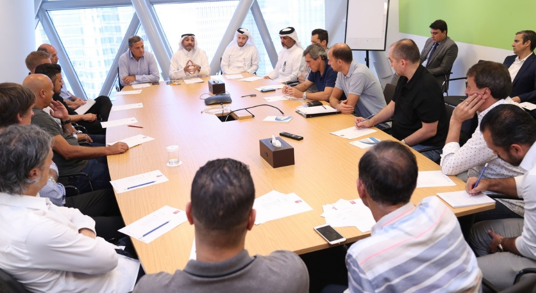 Co-ordination meeting with QNB Stars League coaches held