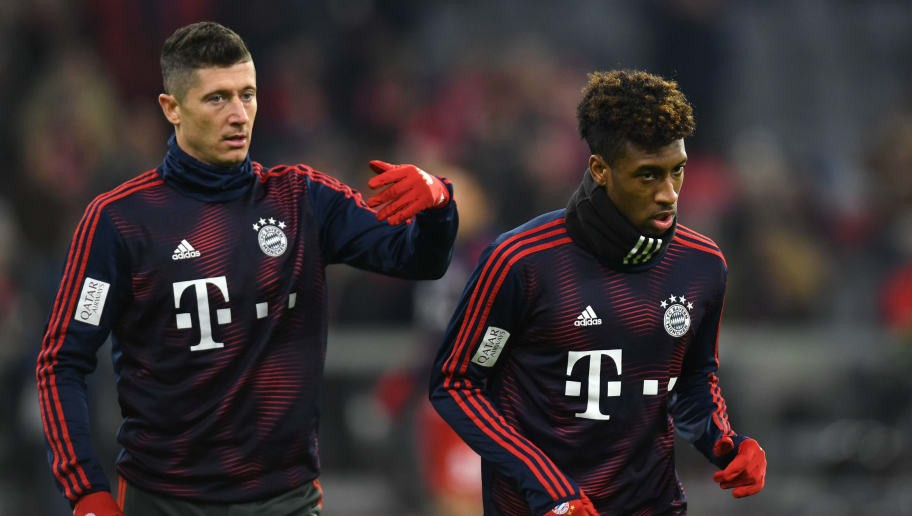 Robert Lewandowski 'Comes to Blows' With Bayern Munich Teammate Kingsley Coman in Training