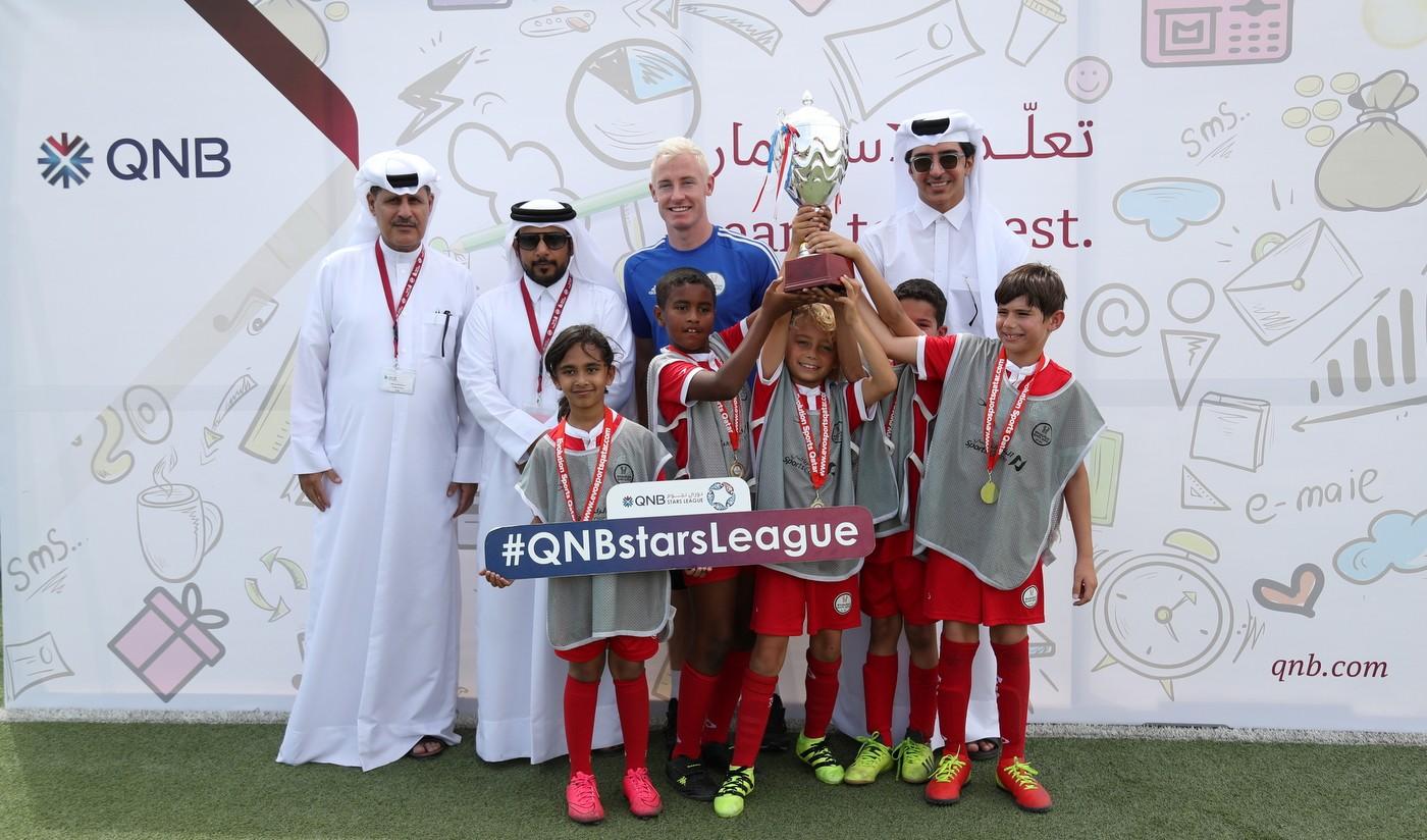 QSL-sponsored Junior Stars League continues its activities