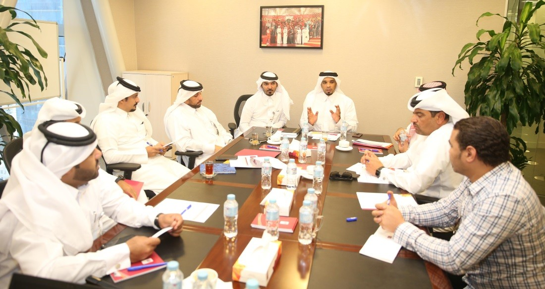 Technical meeting held ahead of Play-Off between Qatar SC and Muaither SC